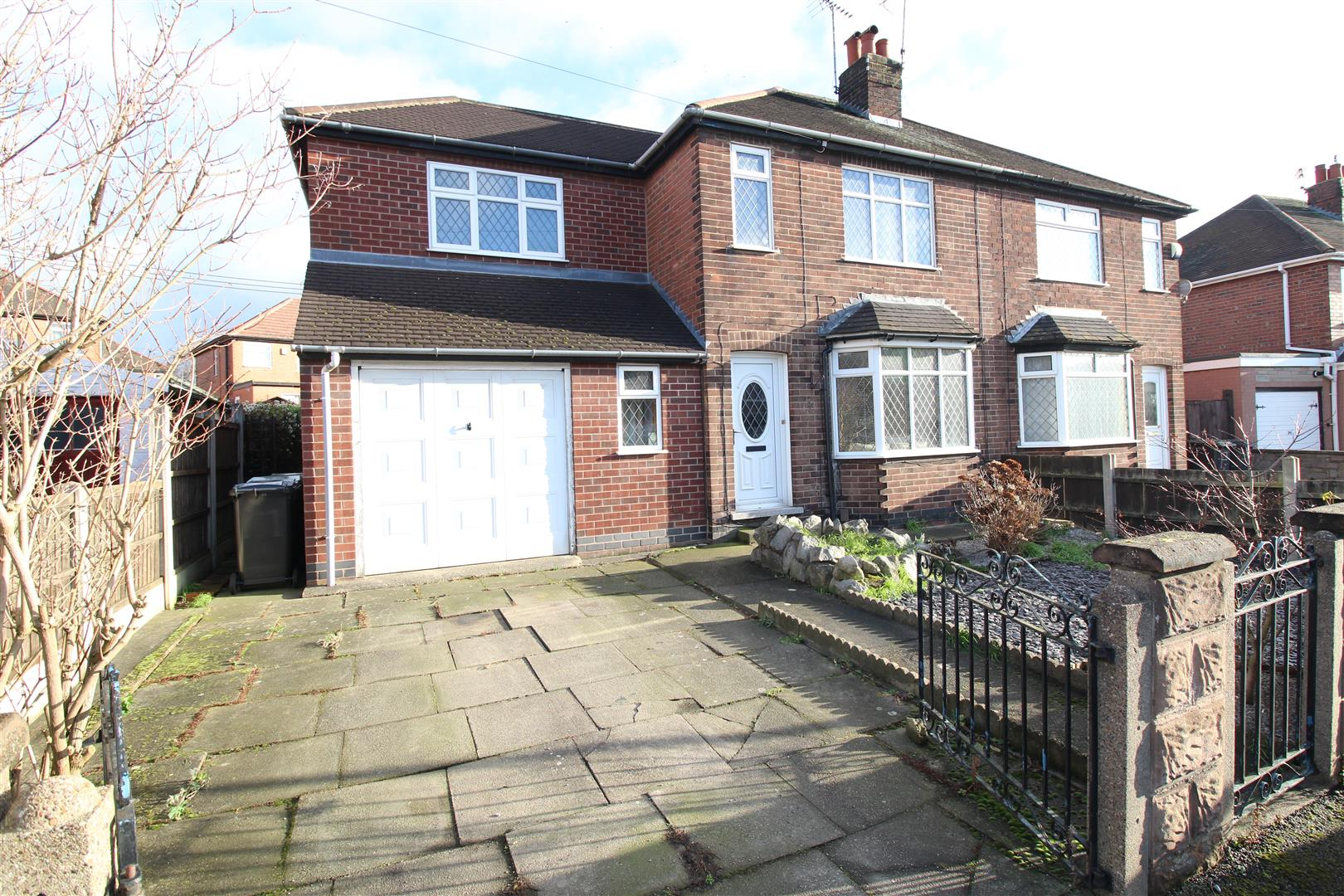 3 Bedrooms Semi Detached House for sale in Wortley Avenue, Trowell, Nottingham
